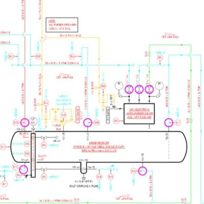 Industrial refrigeration design